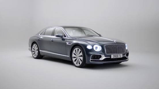 Bentley's Flying Spur sedan can go 207 mph