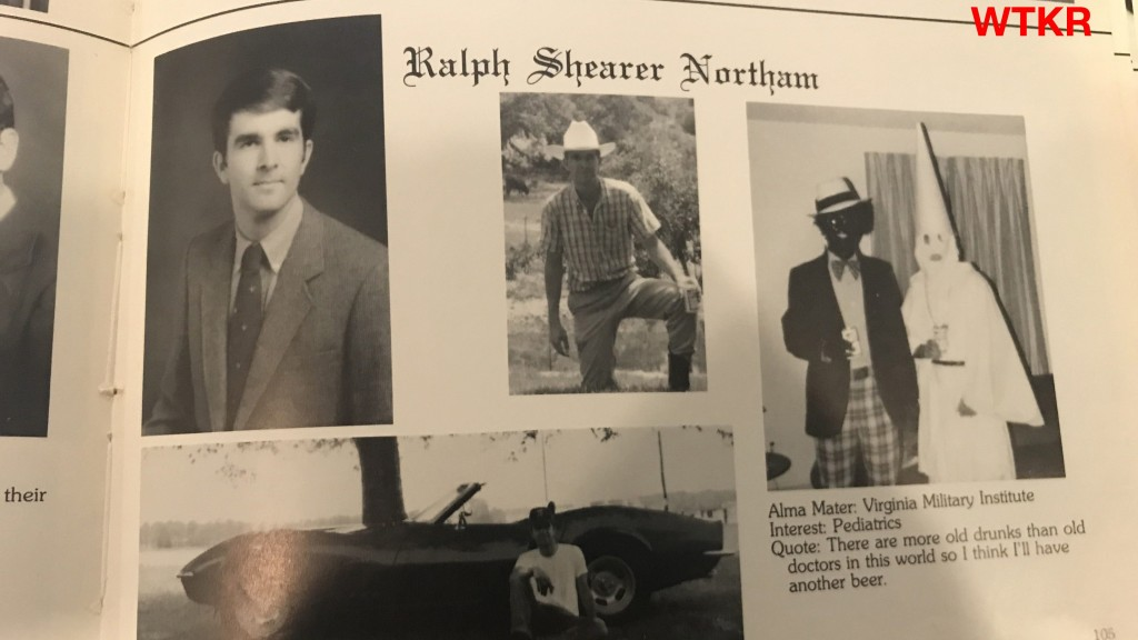 Va. governor apologizes for 'racist and offensive' costume in photo
