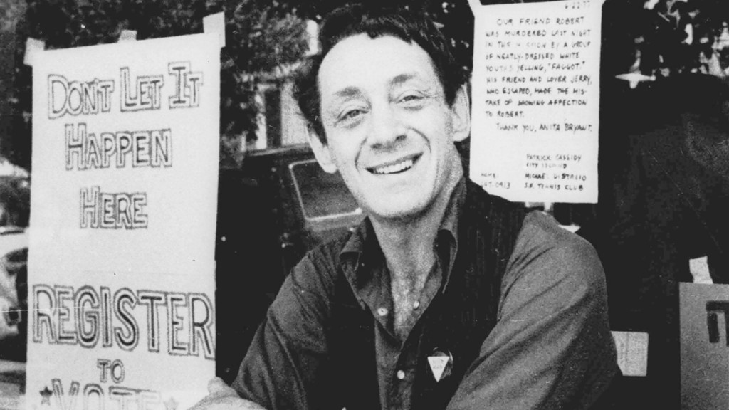 Navy building ship named after Harvey Milk