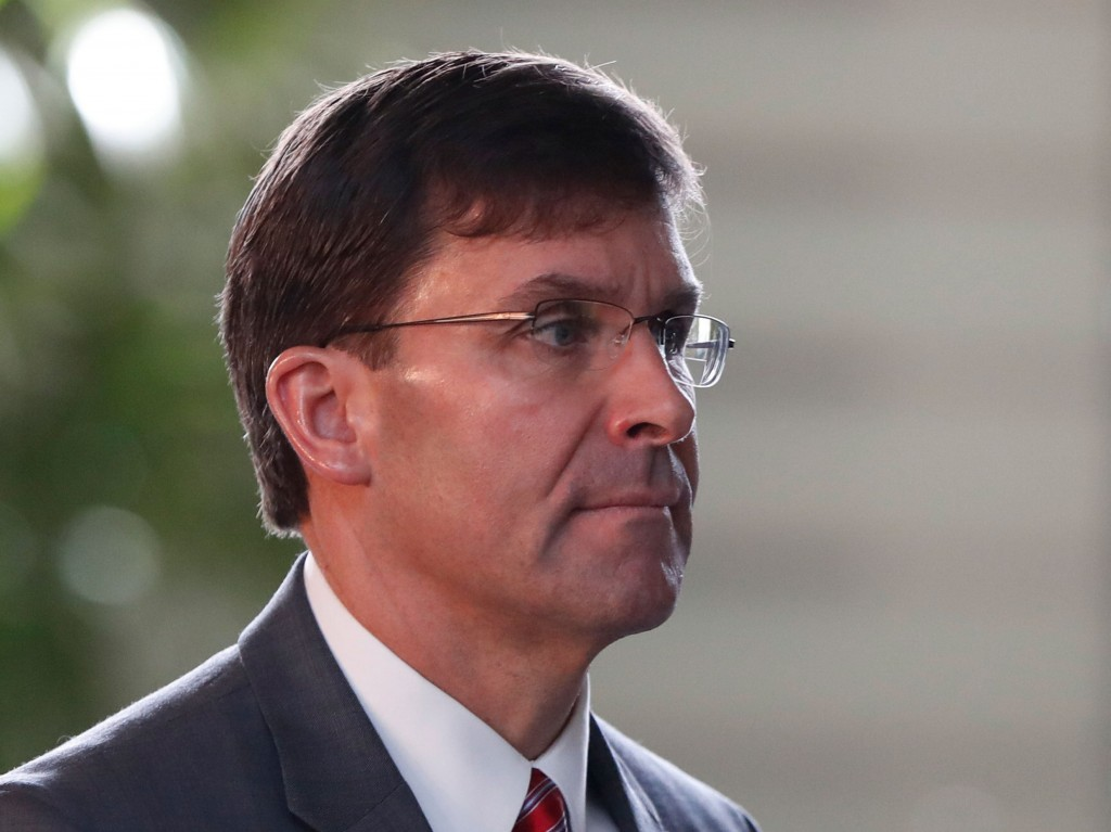 Defense secretary has 'great faith in the military justice system'