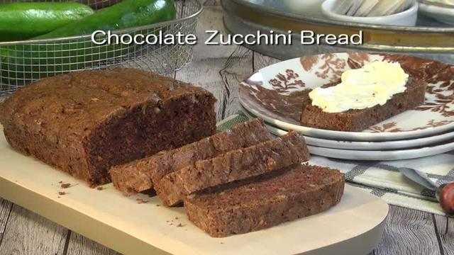 Mr. Food: Chocolate Zucchini Bread