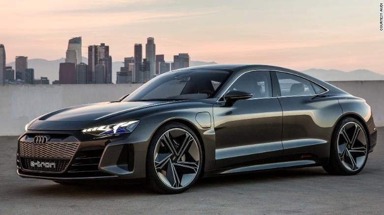 Audi reveals the E-Tron GT, an all-electric sports car