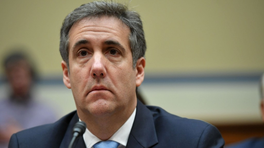 Michael Cohen to report to one of 'America's cushiest prisons'