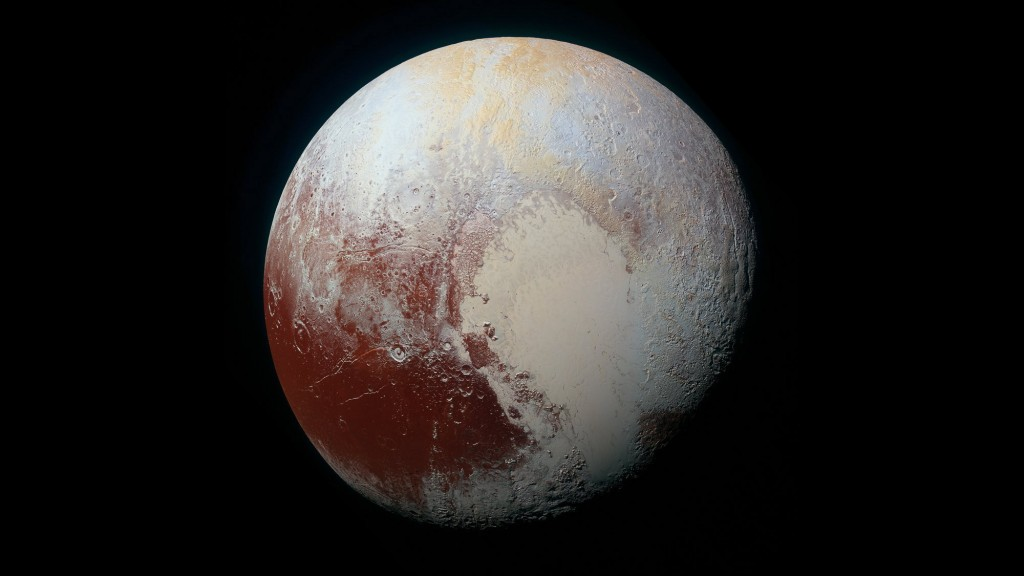 What keeps Pluto's ocean from freezing?