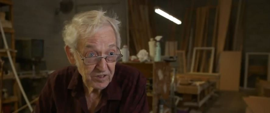 91-year-old man still working, says age won't stop him