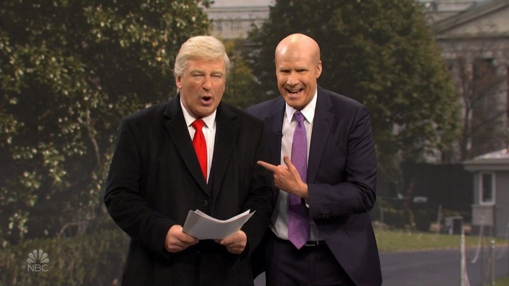 'SNL' has Alec Baldwin's Trump take questions about Sondland