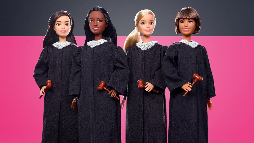 Mattel unveils its new career doll: Judge Barbie