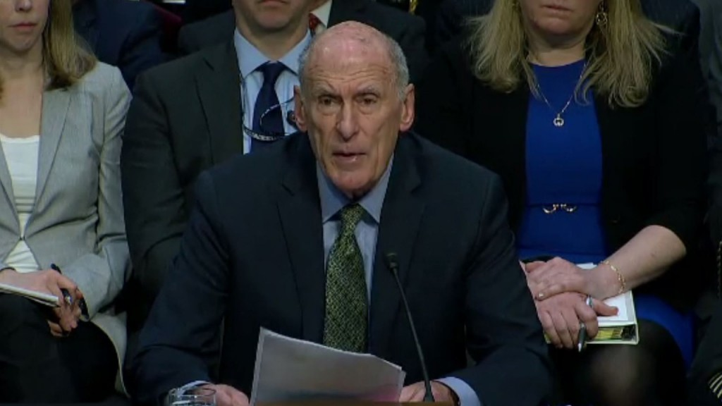 US intelligence chief contradicts Trump on ISIS defeat