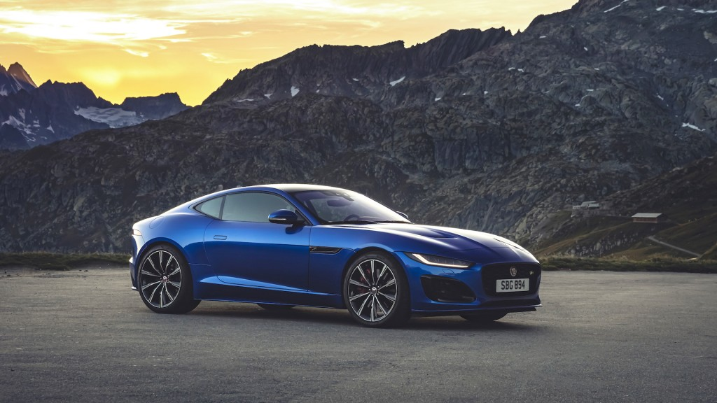 Jaguar's sporty F-Type gets sleek new look