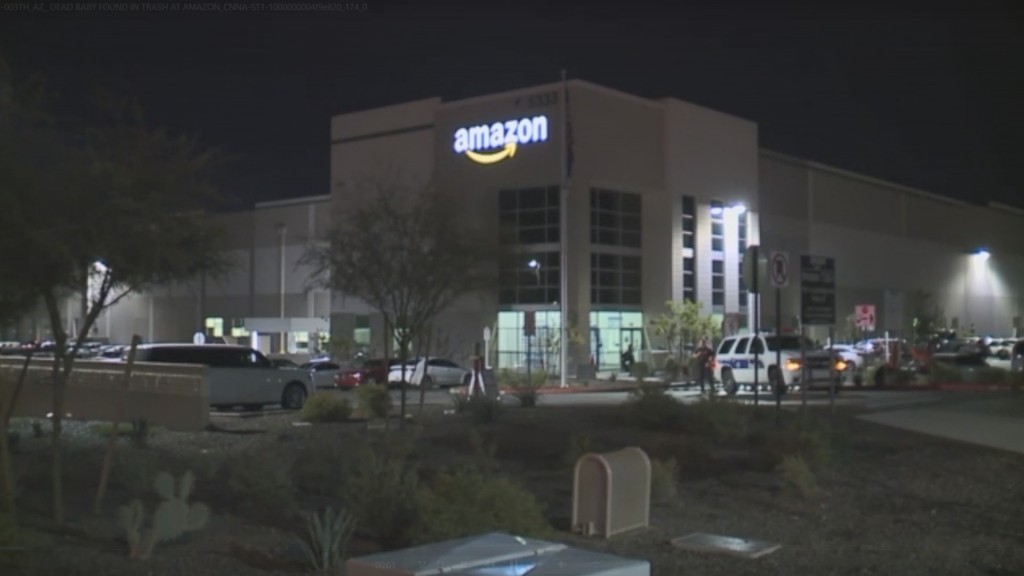 Newborn's remains found in trash at Amazon building in Phoenix