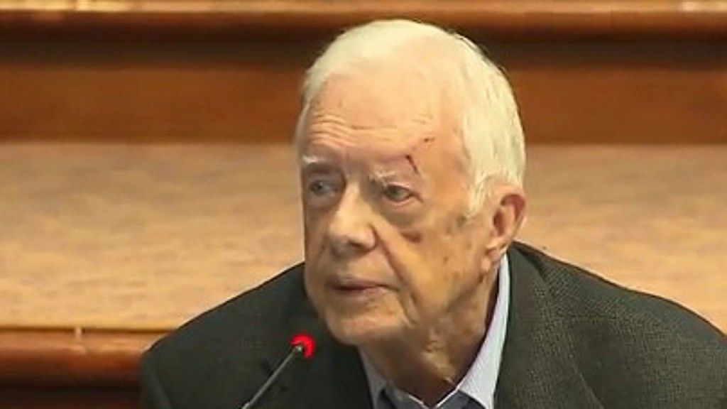 Jimmy Carter home from hospital