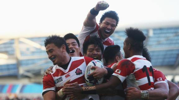 Rugby's 'sleeping giant' eyes World Cup win