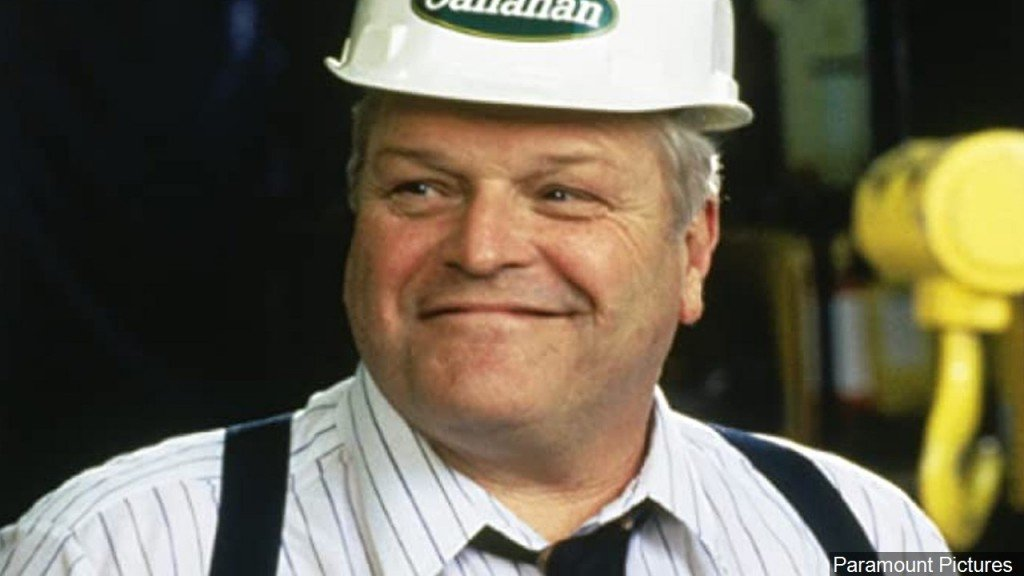 Brian Dennehy In Tommy Boy Film, Photo Date 1995