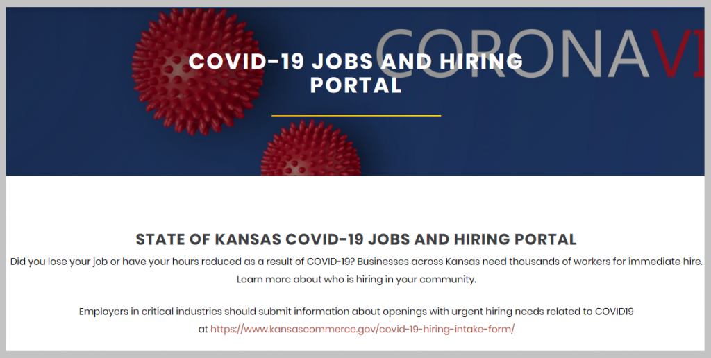 Image From Kansas Jobs Website
