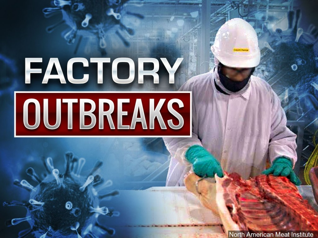 Meat processing plants across the US are closing due to the pandemic. Will consumers feel the impact?