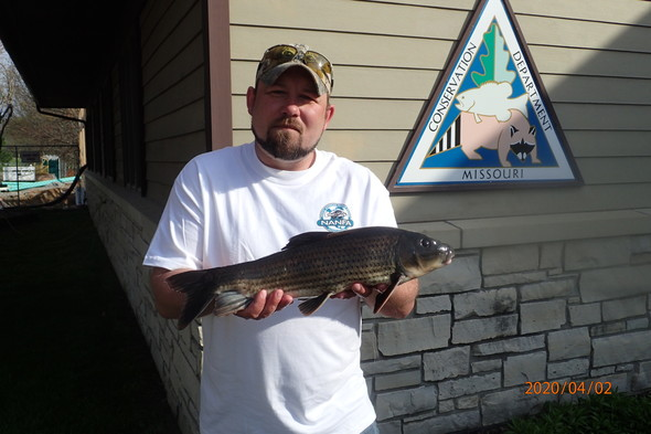 Butler County angler catches world record size spotted sucker