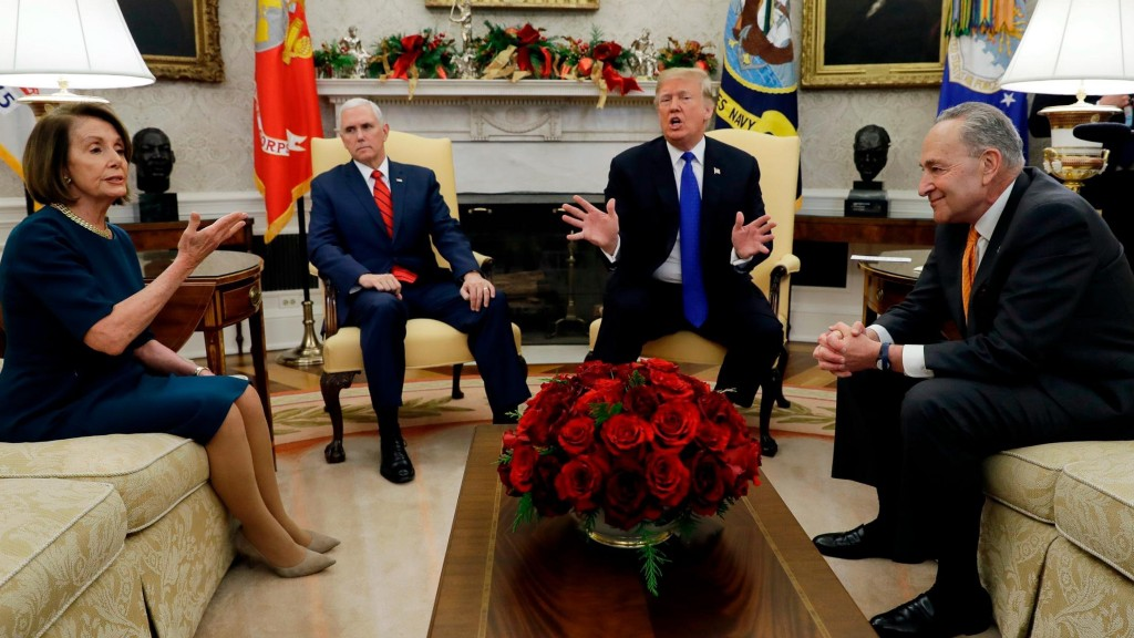 Pelosi questions Trump's manhood, compares him to skunk after border wall meeting