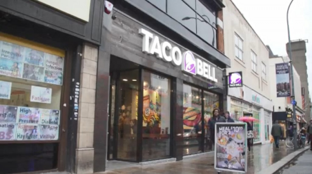 Taco Bell luring Londoners with beer