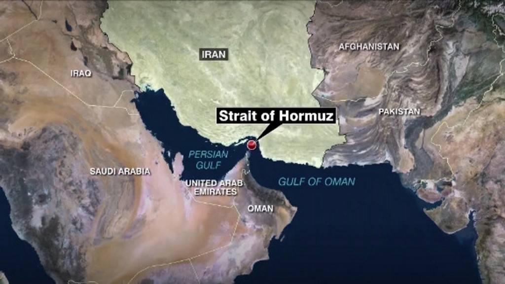 US government warns of Iranian threats to commercial shipping