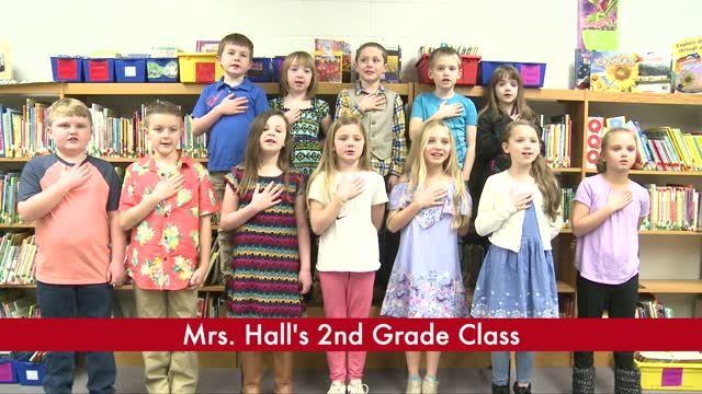 Mrs. Hall's 2nd Grade (3/12)