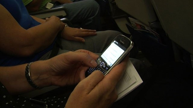 Are cell phone calls on airplane flights inevitable?