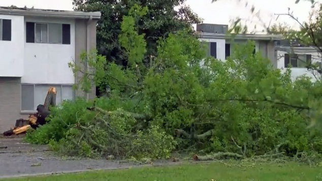 3 dead as powerful storms barrel through the Deep South