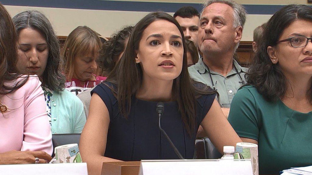 AOC, Dan Crenshaw clash over whether people should lend guns