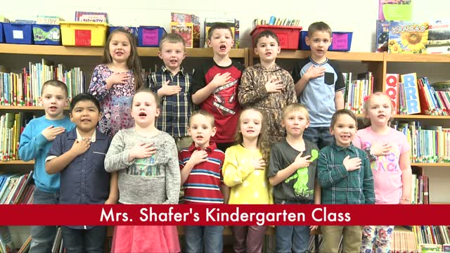 Mrs. Shafer's Kindergarten (3/25)