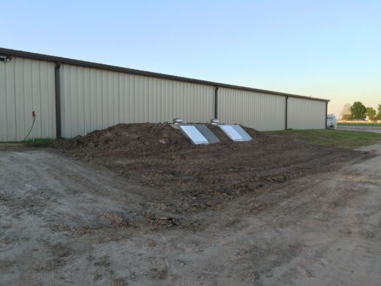 NEO secures storm shelters as part of the Synar Farm renovation project