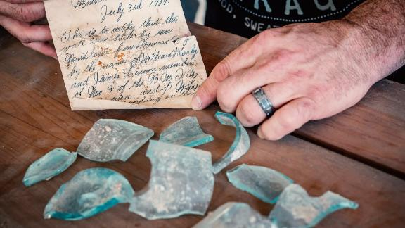 112-year-old letter found during renovations at New Jersey university