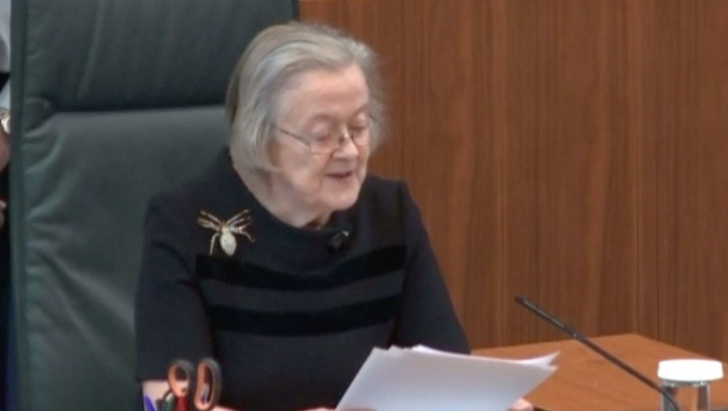 Lady Hale (and her brooch) sets social media on fire