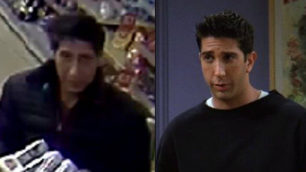 Ross from 'Friends' lookalike caught in UK robbery