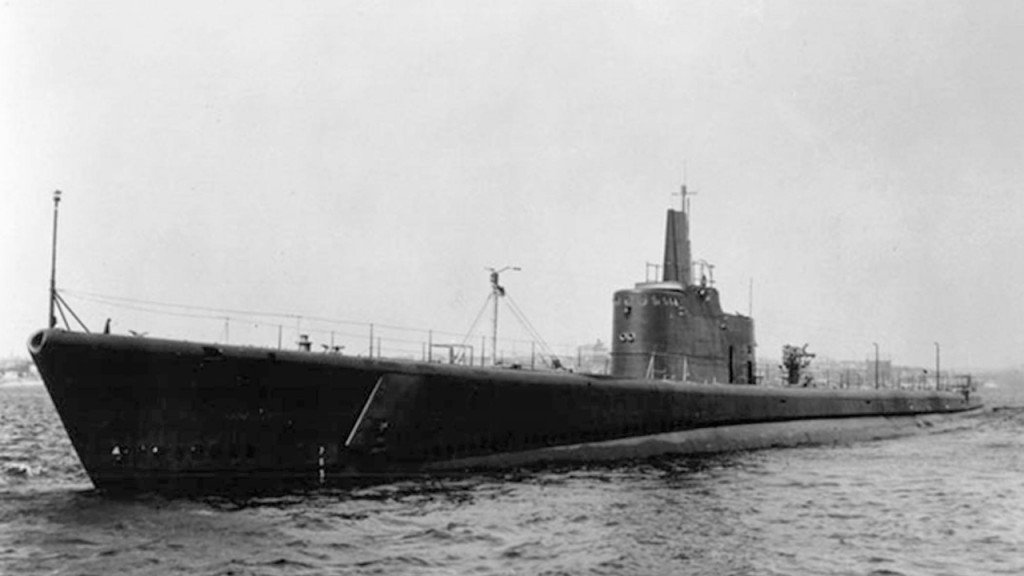 Bow of WWII sub found near Aleutian Islands