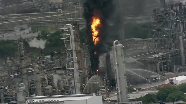 66 treated after fire breaks out at ExxonMobil plant in Texas