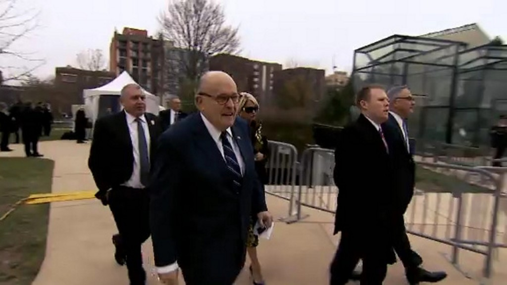 Washington Post: Barr told Trump he was not being well served by Giuliani