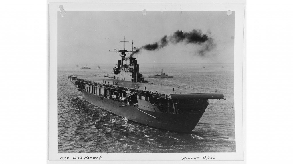 WWII US Navy aircraft carrier wreckage found in South Pacific