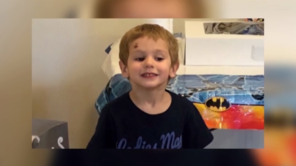 NC boy lost in woods says bear kept him company