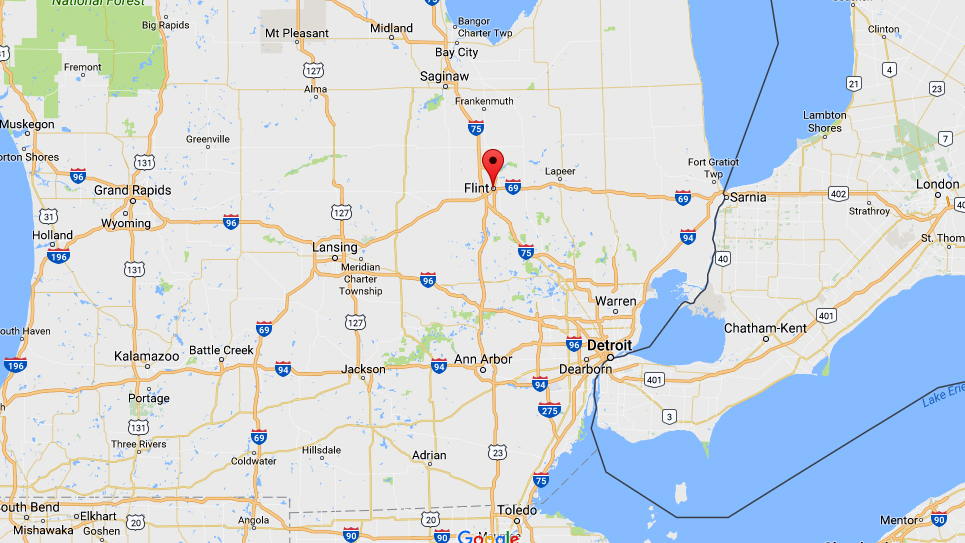 Canadian gets life for stabbing officer at Flint airport
