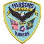Parsons PD badge