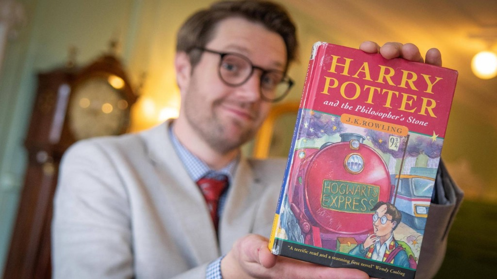 Rare first edition Harry Potter book sells for $34,500 at auction
