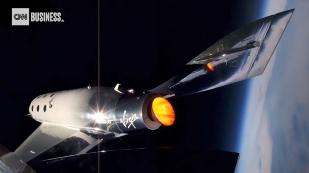Branson: Virgin Galactic will take people to space before Christmas