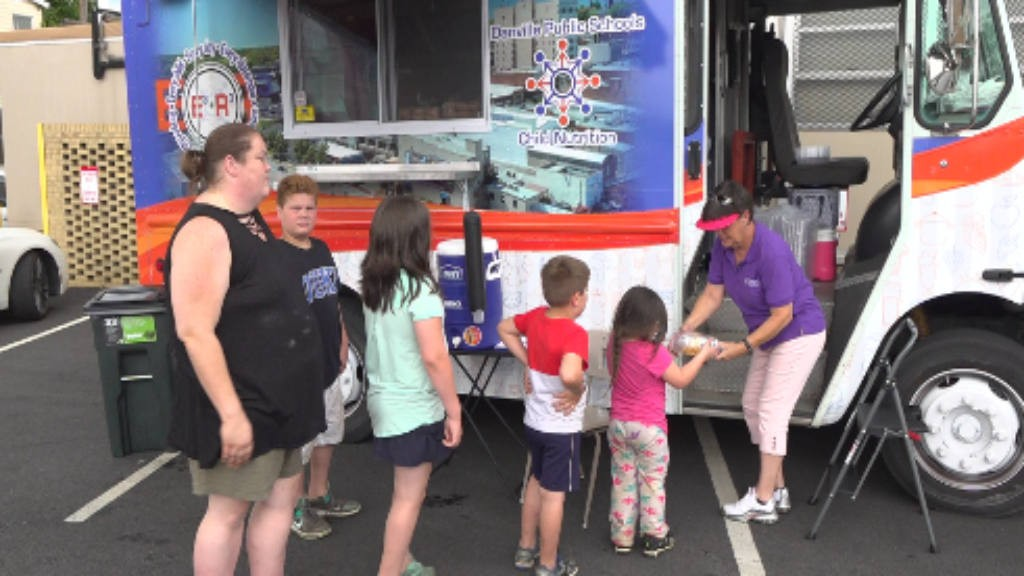 Virginia school district buys food truck to feed students during summer