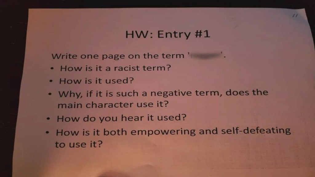 Nashville students support teacher after 'n-word' assignment