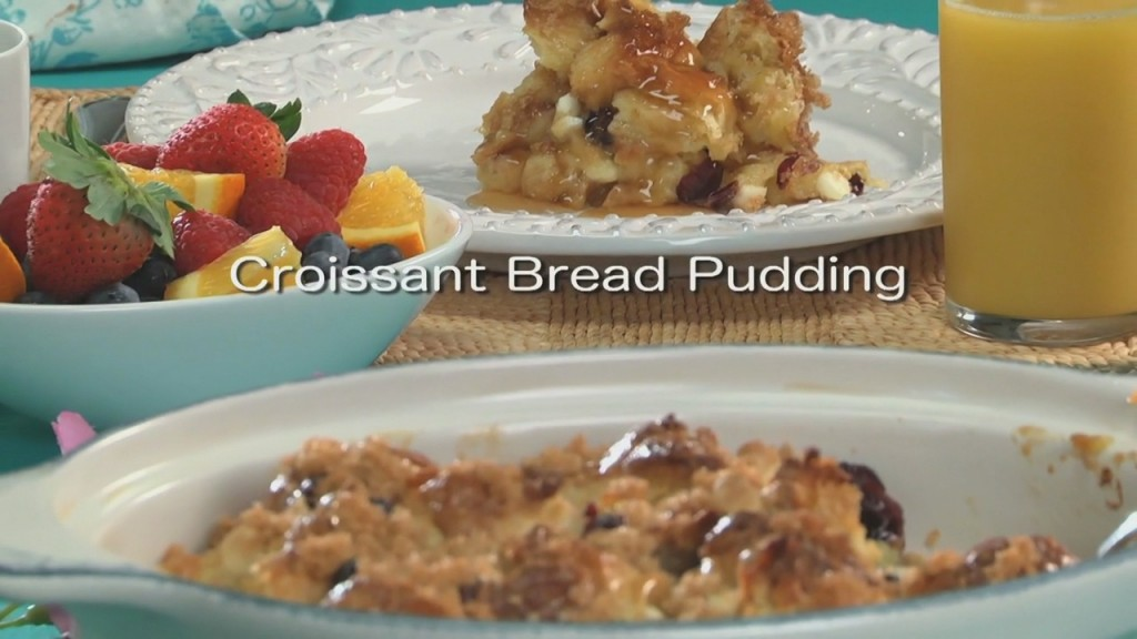 Mr. Food: Croissant Bread Pudding