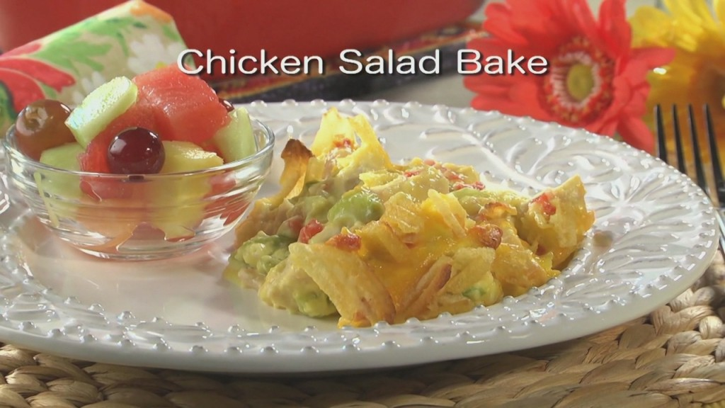 Mr. Food: Chicken Salad Bake
