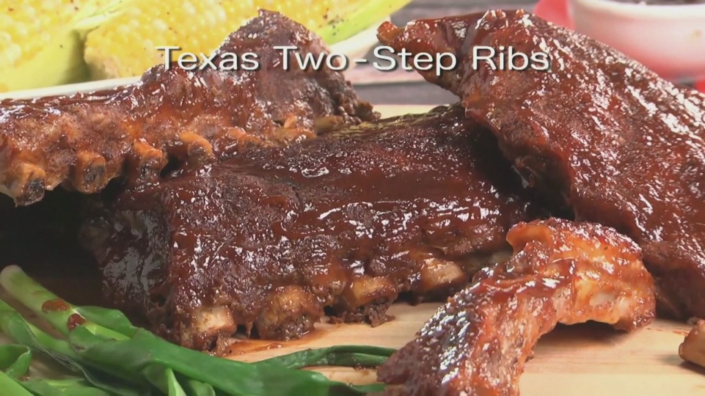 Mr. Food: Texas Two Step Ribs