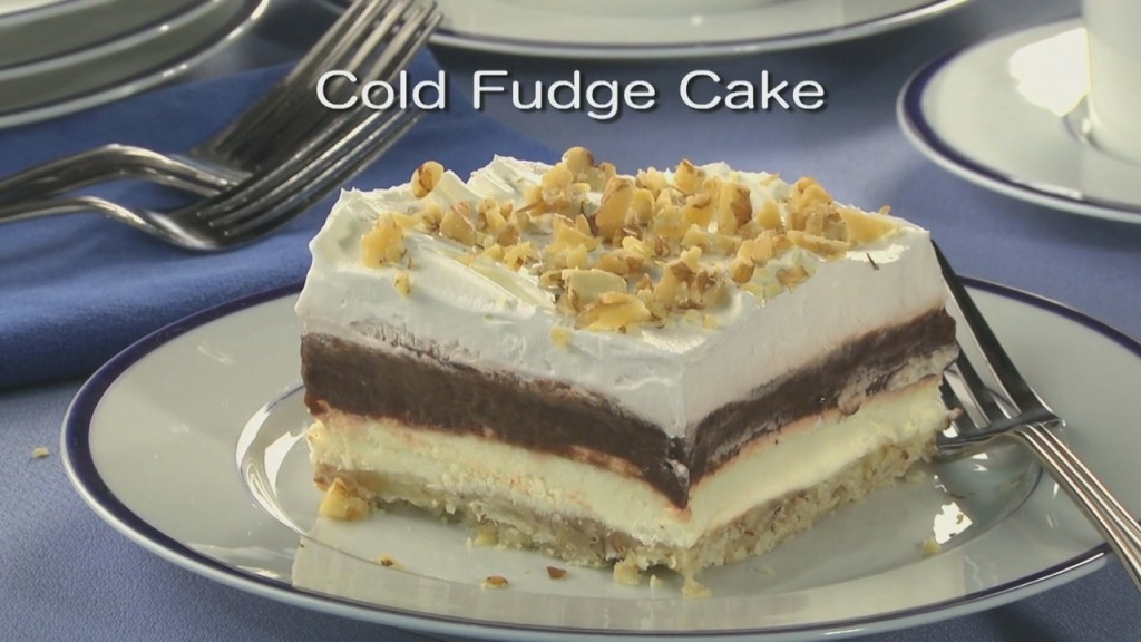 Mr. Food: Cold Fudge Cake