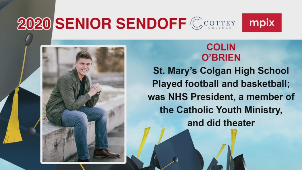 Senior Sendoff Colin 5 26