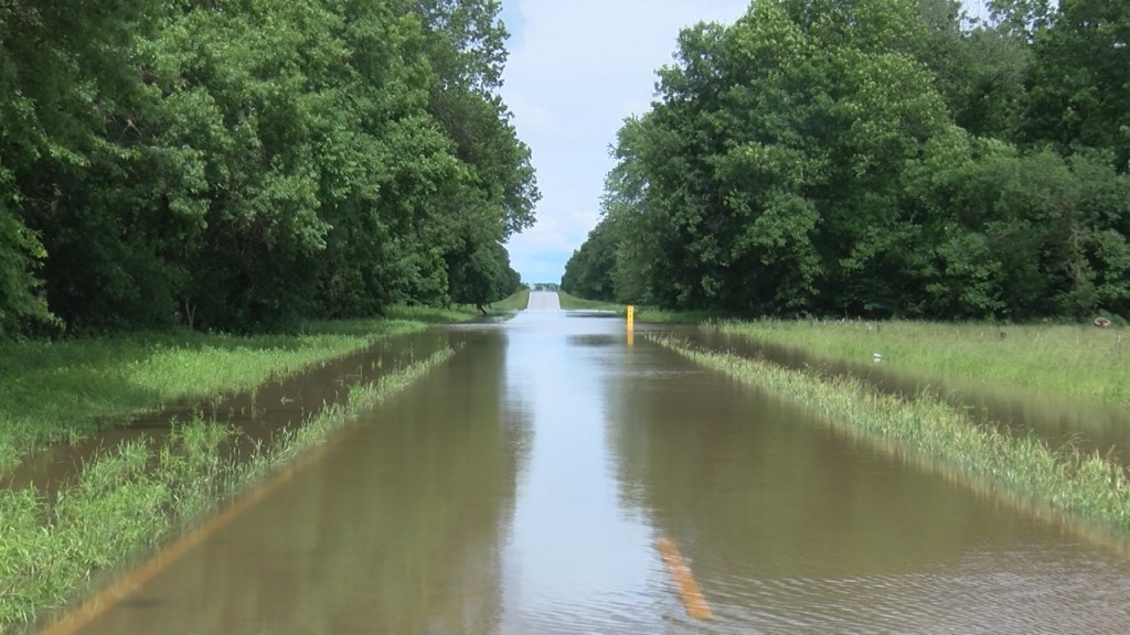 Some Area Roads Closed Due To Flooding