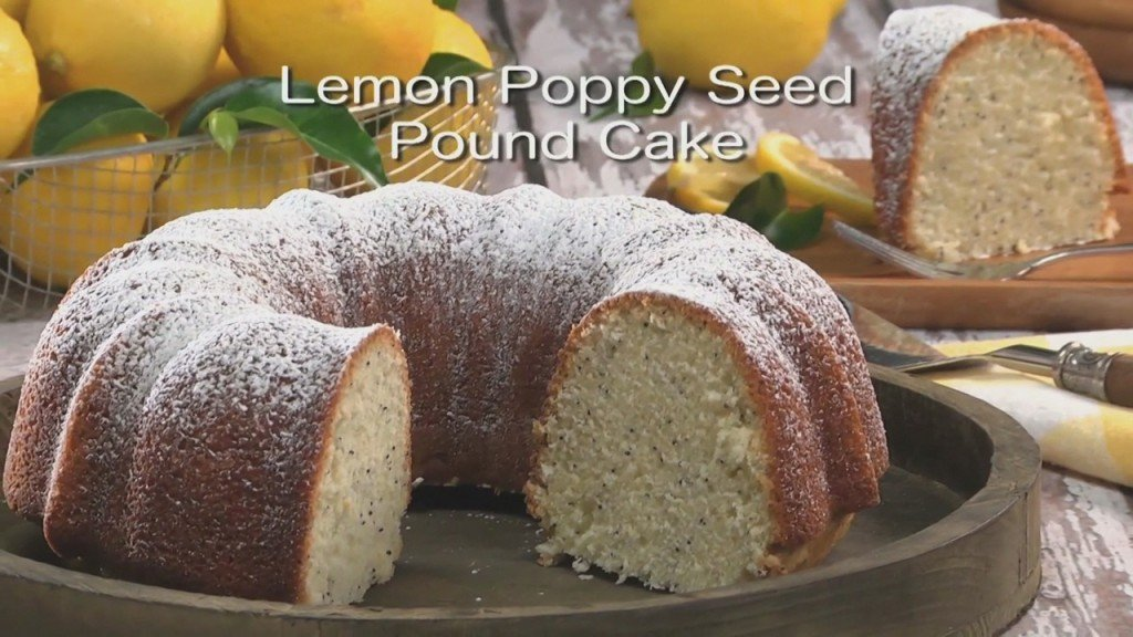 Mr. Food: Lemon Poppy Seed Pound Cake